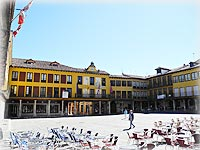 Plaza Mayor de Tordesillas.